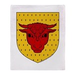 Populace Badge Throw Blanket