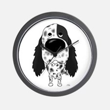 Big Nose English Setter Wall Clock