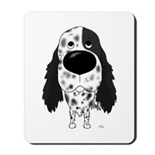 Big Nose English Setter Mousepad