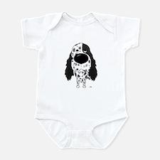 Big Nose English Setter Infant Bodysuit
