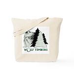 Wolf Timbers Logo Tote Bag