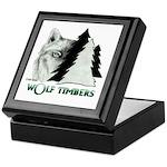 Wolf Timbers Logo Keepsake Box