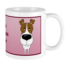 Big Nose Fox Terrier Mom Coffee Mug