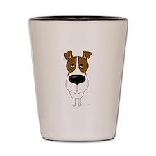 Big Nose Fox Terrier Shot Glass