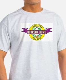 Bourbon Bowl Ash Grey T-Shirt