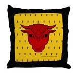 Populace Badge Throw Pillow