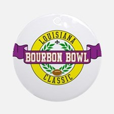 Bourbon Bowl Ornament (Round)