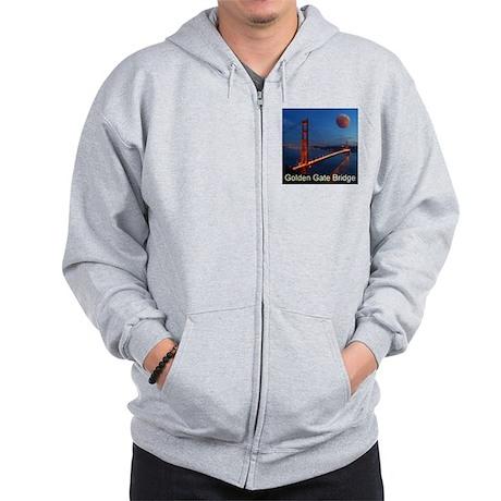 Golden Gate Bridge Zip Hoodie