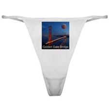 Golden Gate Bridge Classic Thong