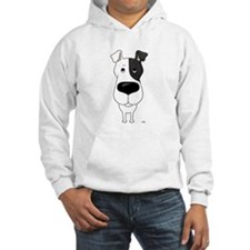 Big Nose Fox Terrier Hoodie