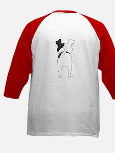 Big Nose Fox Terrier Kids Baseball Jersey