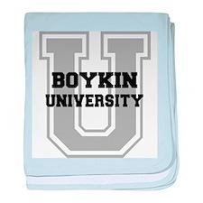 Boykin UNIVERSITY baby blanket