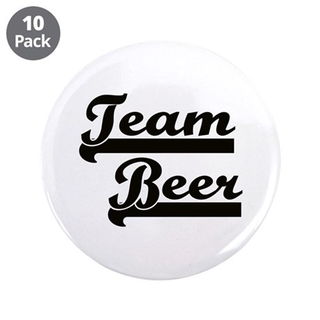 """Team Beer 3.5"""" Button (10 pack)"""
