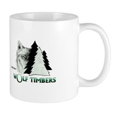 Wolf Timbers Logo Mug