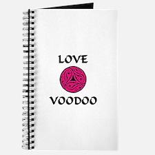 LoveVooDoo Pink/Black Journal