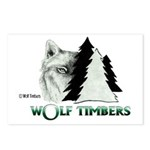 Wolf Timbers Logo Postcards (Package of 8)