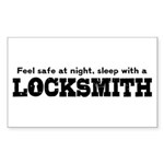 Funny Locksmith Sticker (Rectangle)