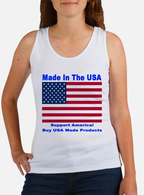 Made In The USA Women's Tank Top