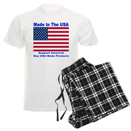 Made In The USA Men's Light Pajamas