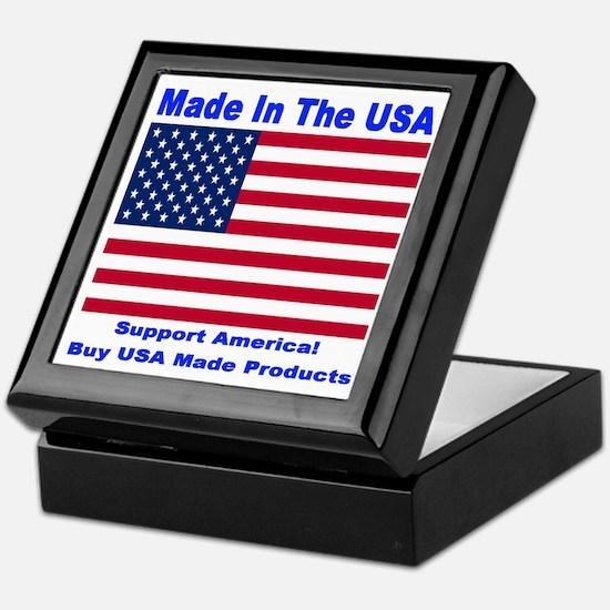 Made In The USA Keepsake Box