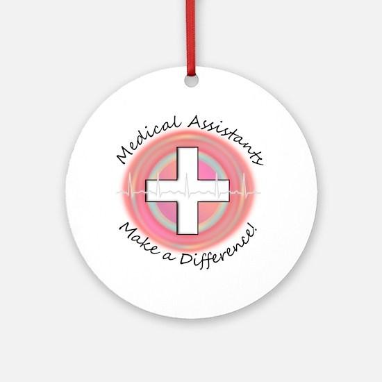 Nursing Assistant Ornament (Round)