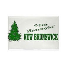 Cute Canuck Rectangle Magnet