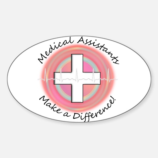 Nursing Assistant Sticker (Oval)