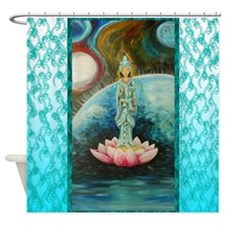 QUAN YIN Shower Curtain