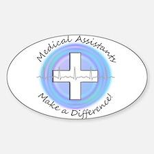 Nursing Assistant Sticker (Oval)