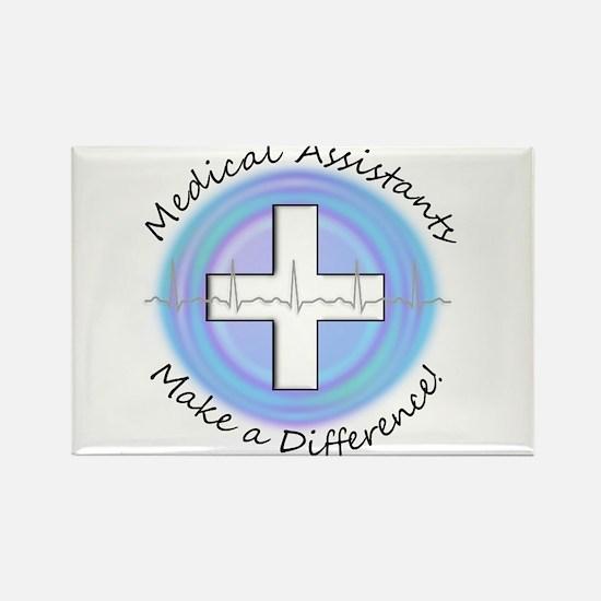 Nursing Assistant Rectangle Magnet