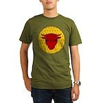 Populace Badge Organic Men's T-Shirt (dark)