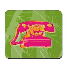 Rotary phone Mousepad