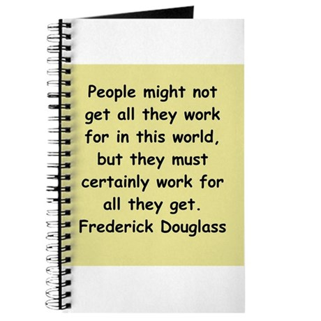 frederick douglass gifts and Journal