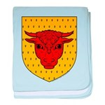 Populace Badge baby blanket