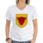 Populace Badge Women's V-Neck T-Shirt