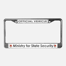 My Stasi Shoppe License Plate Frame