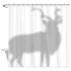 Addax Antelope Shower Curtain