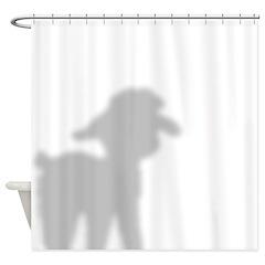Angora Goat Kid 2 Shower Curtain