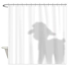 Angora Goat Kid Shower Curtain