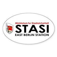 My Stasi Shoppe Oval Decal