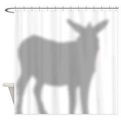 Donkey 2 Shower Curtain