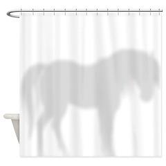Horse 2 Shower Curtain
