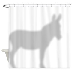 Donkey Shower Curtain