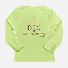 I Dig Archaeology Long Sleeve Infant T-Shirt