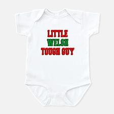 Little Welsh Tough Guy Infant Bodysuit