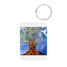 Tree of Life Design Keychains