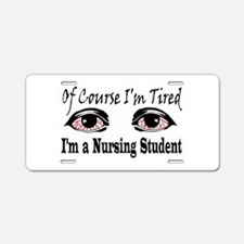 Nursing Student Aluminum License Plate