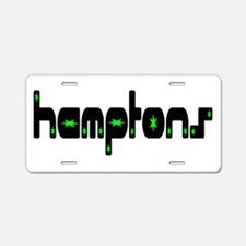 Hamptons Aluminum License Plate