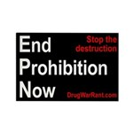 End Prohibition Now Magnet
