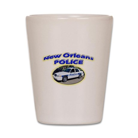 New Orleans Police Department Shot Glass